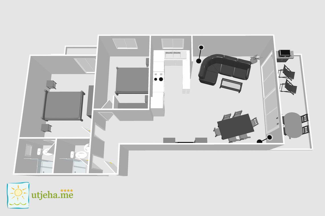 ferienwohnung mar al. Black Bedroom Furniture Sets. Home Design Ideas