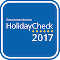 Recommended on HolidayCheck #RoHC2016